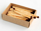 Boxes with matches — Stock Photo