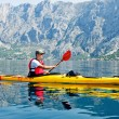 Kayak traveler — Stockfoto