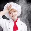 Chef woman — Stock Photo #26835803