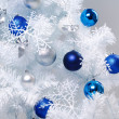 Decorated christmas tree — Stock Photo #26836733