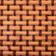 Brown bamboo mat — Stock Photo