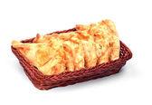 Пирожки в корзину — Стоковое фото