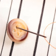Sewing button — Stock Photo