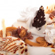 Stock Photo: Cream cake