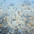 Ice pattern — Stock Photo