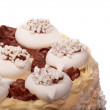 Stock Photo: Meringue cake