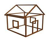 设计器、 房子、 建设 — 图库照片