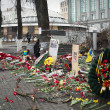 Euromaydin Kiev. Memory of dead Euromaydan. — Stock Photo #41648579