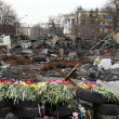 Evromaydin Kiev. Barricades — Stock Photo #41648581