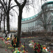 Euromaydin Kiev. Memory of dead Euromaydan. — Stock Photo #41648583