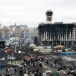 Evromaydin Kiev. Independence Square after revolution. — Stock Photo #41714995