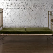 Stockfoto: Metal bed