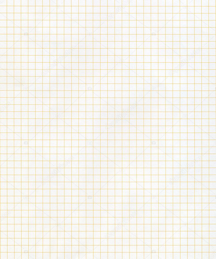 Squared graph paper, technical precision matrix supplies — Stock Photo #12458439