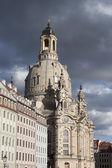 Frauenkirche em dresden — Fotografia Stock