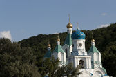 Church of the Intercession in Sviatogorsk — Stock Photo