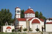 Stadtkirche in georgioupolis — Stockfoto