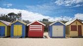 Cabañas coloridos — Foto de Stock