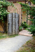 Old Wooden Door — Foto de Stock
