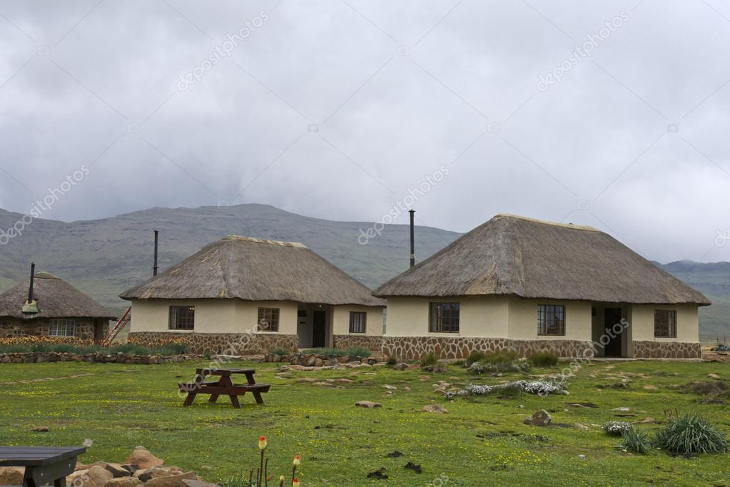 Sani Pass, Lesotho Mountain, Africa — Stock Photo #17660105