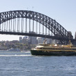 Stock Photo: Sydney Harbor Bridge, Australia