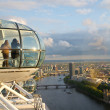 London eye, London — Stock Photo