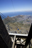 Cape Town, Table mountain — Stock Photo