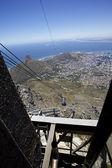 Ciudad del cabo, montaña de la mesa — Foto de Stock