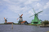 Windmills, Netherlands — Stock Photo
