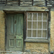 A Weathered Aged Stone House — Stock Photo