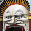 Clown face, Luna Park — Stock Photo