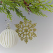 Stock Photo: Christmas Festive Season Hanging Decoration