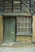 A Weathered Aged Stone House — Stok fotoğraf