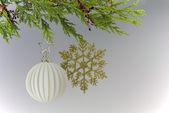 Fêtes de noël suspendus décoration — Photo