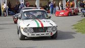 Melbourne Formula One Lancia — Stock Photo