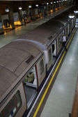 London, Train Underground, Transport — Stock Photo