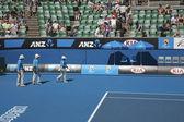 Imperios del abierto australiano de tenis — Foto de Stock