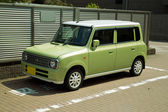 Green car — Foto de Stock