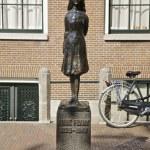 Anne Frank in Amsterdam — Stock Photo #48158227