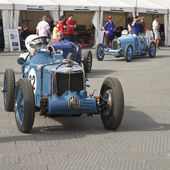 Melbourne Formula One, MG and other antique racers in 2010 — Foto Stock