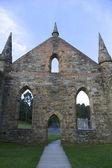 ポート アーサー タスマニア、オーストラリアの古代教会 — ストック写真