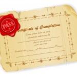 Vintage Certificate — Stock Vector #12429234
