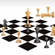Chess Game - Stock Vector