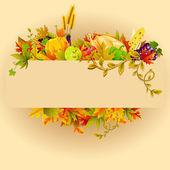 Celebración de acción de gracias — Vector de stock