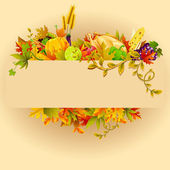 Thanksgiving firande — Stockvektor