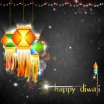 Diwali Hanging Lantern — Stock Vector #12865804