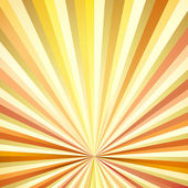 Vintage Sunburst Background — Stock Vector