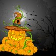 Royalty-Free Stock Vector Image: Halloween Pumpkin