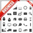 Stock Vector: Business Icon