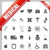 Medical Icon Set — Stock Vector