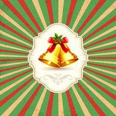 圣诞钟声 — 图库矢量图片